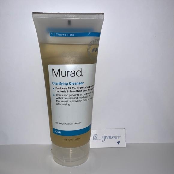Clarifying Cleanser Murad Sealed Acne Cleanser